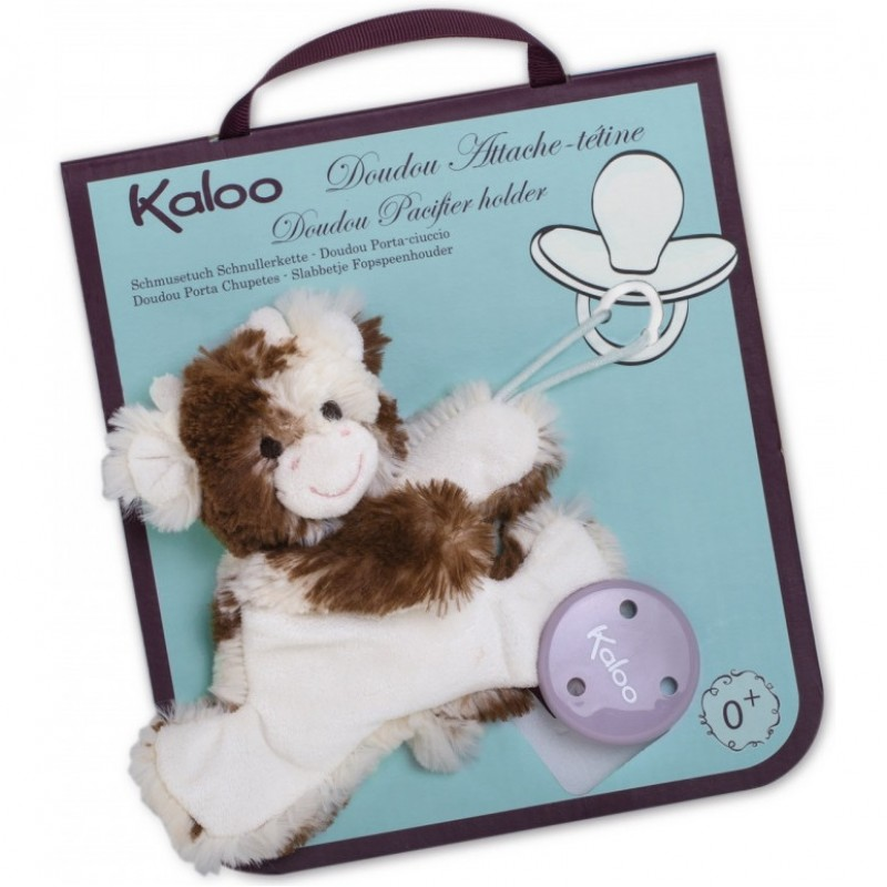 Les Amis Regliss Donkey Doudou Soother//Pacifier Holder Kaloo
