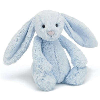 Jellycat Bashful Blue Bunny - Medium 31cm