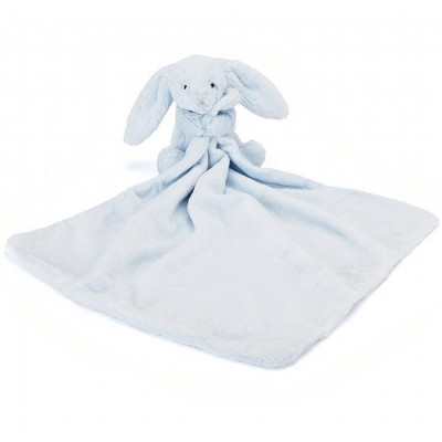 Jellycat Bashful Blue Bunny Soother 33cm