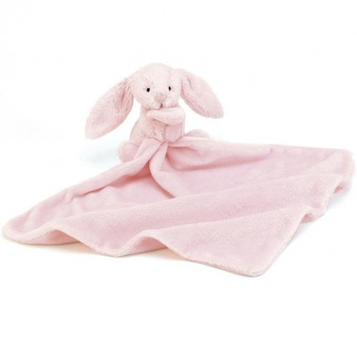Jellycat Bashful Pink Bunny Soother 33cm