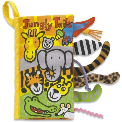 Jellycat Jungly Tails Book 21cm