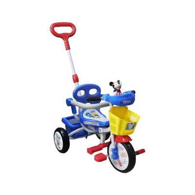 Baby Star Mickey Mouse Tricycle (with Push Bar and Guard)